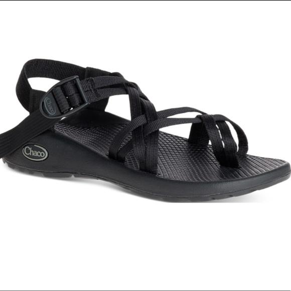 Chaco Shoes | Black Strappy S | Poshmark